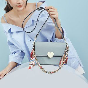 New Summer Fashion Leather Chain Bag Shoulder Bag